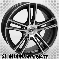 alufelni MIX SL Miami anthracite/polish