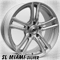 alufelni MIX SL Miami silver/polish